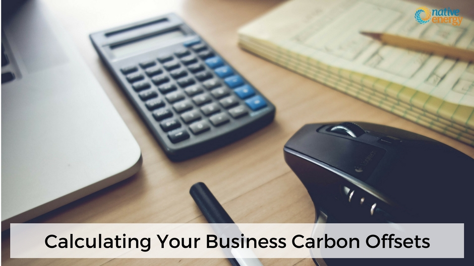 CALCULATING YOUR BUSINESS CARBON OFFSETS