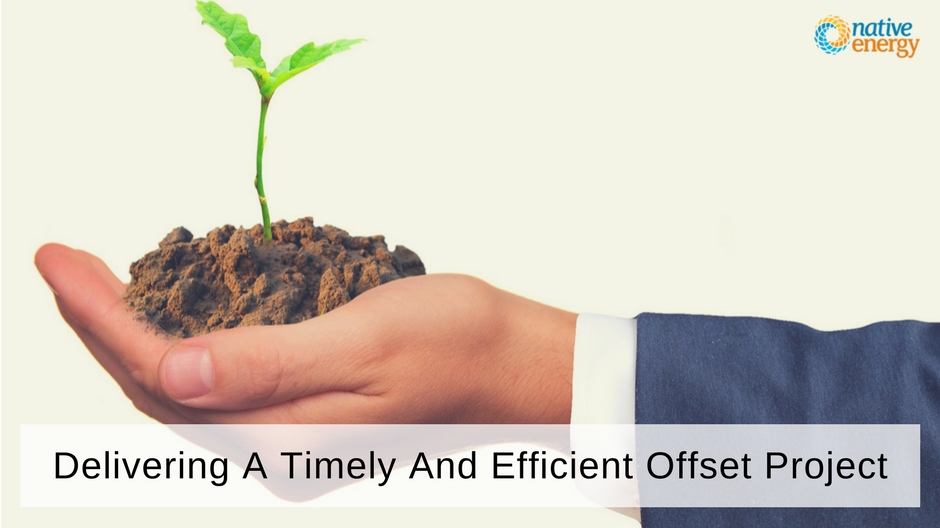 Delivering A Timely And Efficient Offset Project