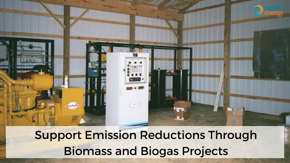 Support Emission Reductions Through Biomass and Biogas Projects