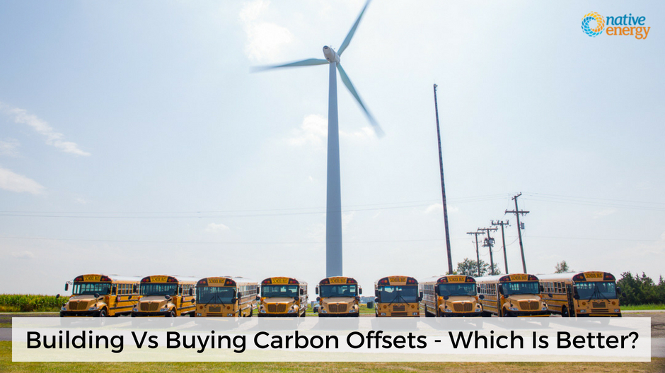 Building Vs Buying Carbon Offsets - Which Is Better