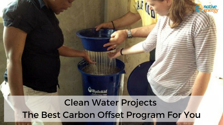 Clean Water Projects - The Best Carbon Offset Program For You (1)