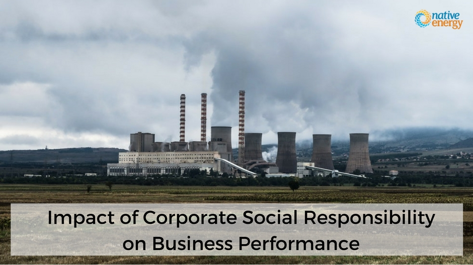 Impact of Corporate Social Responsibility on Business Performance